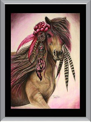 Dreamcatcher Horse A1 To A4 Size Poster Prints