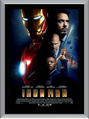Iron Man A1 To A4 Size Poster Prints
