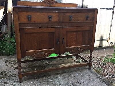 Vintage/Antique Oak Dresser Base