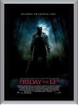 Friday The 13th A1 To A4 Size Poster Prints