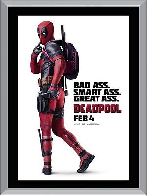 Deadpool Movie A1 To A4 Size Poster Prints