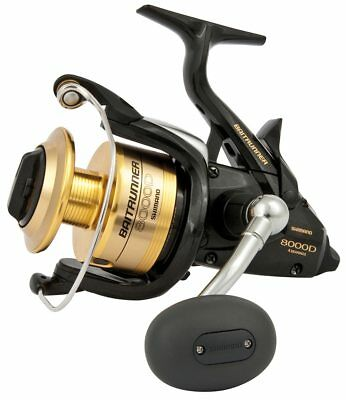 Shimano 8000D Baitrunner fishing reel