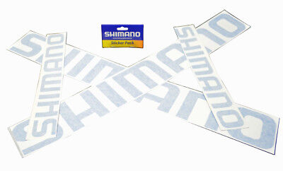 Shimano Sticker Pack (4 Decal Stickers)