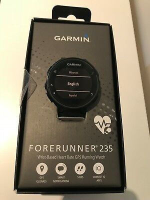 Garmin Forerunner 235 Black GPS Watch with HRM