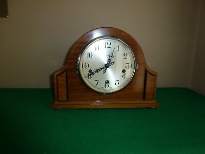 Vintage Smiths Enfield Westminster Chimes Mantle Clock.