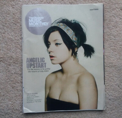 Lily Allen Nadav Kander JAY Z Observer Music Monthly Magazine UK - December 2008