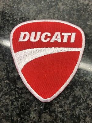 Ducati Patch Iron On Sew On panigale 748 Ducati Corse LONDON Seller.