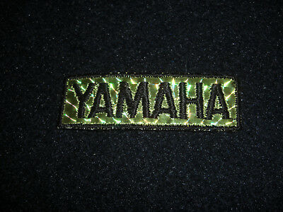 Vintage  1970's Team Yamaha Motorcycle Prism Patch