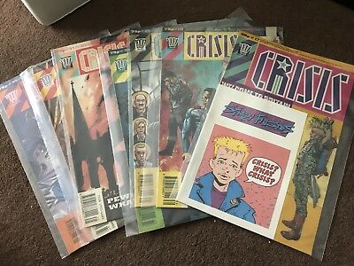 Crisis By 2000ad Comic Bundle