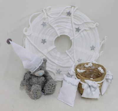NEW ME TO YOU White Paper Hot Air Balloon Light Shade With Teddy For Nursery