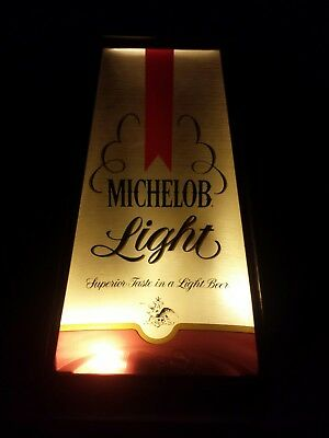 Michelob Light Sign Desk Table Lamp