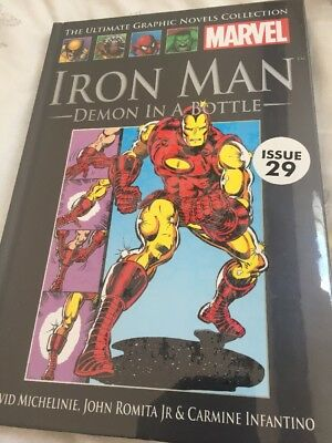 Iron Man Demon In A Bottle Marvel Ultimate Graphic Novel Col #29 Book #1