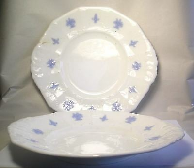 A Pair of Early 1800's Chelsea Wear Plates A12