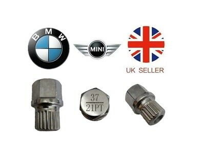 Mini, BMW Locking Wheel Nut Key ABC 37 Type 21 Splines