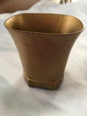 Denmark - Just Anderson - Art Deco Bronze 1930's Footed Cup Vase