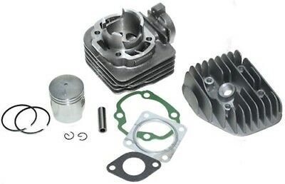 50 cc Cylinder Kit, incl Cylinder Head, 50 CCM Morini Ac Engines, Air Cooled
