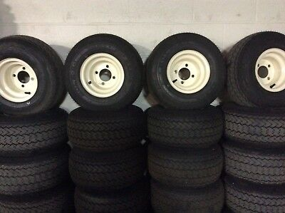 Set of 4 18x8.5-8 NEW golf cart tires EZGO Club Car Yamaha Free Shipping AACO