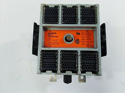 ASEA EG 160-UL Contactor (160 Amp/AC  600V  3 Phase