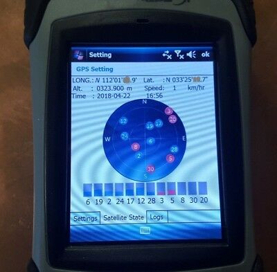 Hemisphere GNSS XF1 Data Collector with built-in GPS