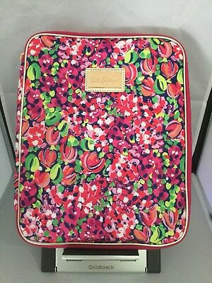 LILLY PULITZER Agenda Folio Wild Confetti Pink Organizer Case Tablet Notebook