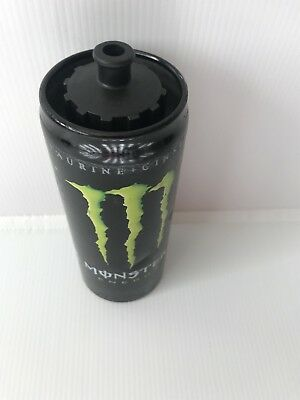 Monster Energy Drink Metal Sports Bottle In Decent Condition. Has Multiple Marks