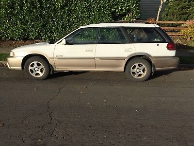 1999 Subaru Legacy Limited 1999 Subaru Legacy Outback Limited sold AS-IS: blown head gasket Runs and drives