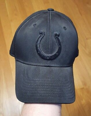 Men s L XL Indianapolis Colts Flex Cap Hat Reebok NFL Equipment mint  condition 5c20ea11d