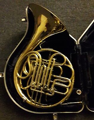 Conn 6D Double French Horn W/Case & Stork Mouthpiece