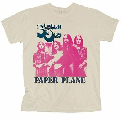 Status Quo 'Paper Plane' T-Shirt - NEW & OFFICIAL