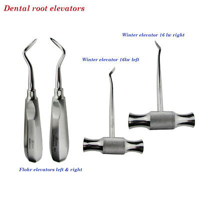 Dental Surgical Root Pick Extractive Elevators Winter Flohr For Removal Dentists