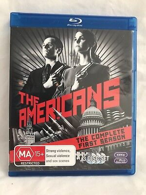 The Americans - The Complete First Season (Blu-ray)