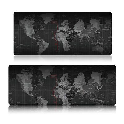 NonSlip Large Size World Map rubber mouse pad computer game tablet mouse pad ZL1