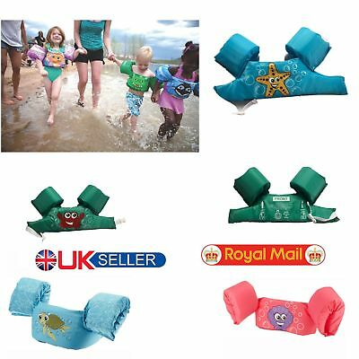 Kid Baby Puddle Jumper Life Jacket Vest Swim Trainers Arm Floats Arm Bands Ring