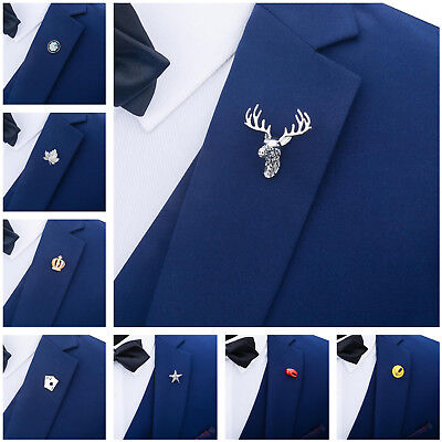 9 Styles Maple Leaf Brooch Pin Shirt Lapel Charms Men's Fashion Jewelry Gifts
