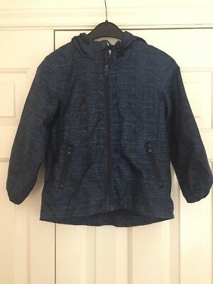 Boys Jacket Age 5-6 Years From Primark Hooded Blue