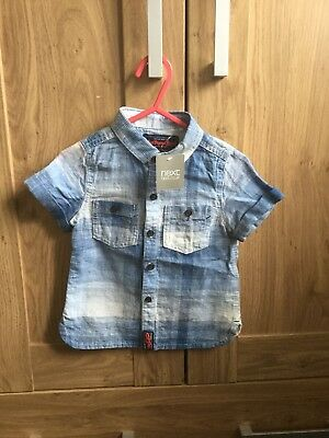 Next Boys Shirt (9-12 Months)