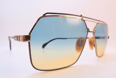 Vintage 80s Cazal sunglasses Mod 734 grey size 62-13 made in West Germany