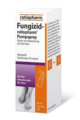 Fungizid-ratiopharm Pumpspray 40ml PZN: 3417781