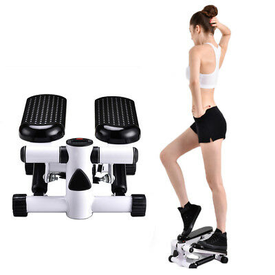 Aerobic Stepper Arm Exercise Fitness Air Workout Stair Climber Machine + String