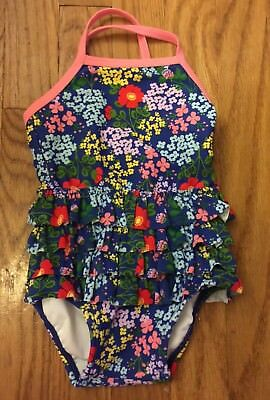 NWT Hanna Andersson Girls One Piece Swimsuit Size 70 (US 6-12 Months)