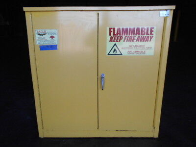 """USED Flammable Storage Cabinet, Eagle, model 1930, 30 gallon, 43"""" x 19.5"""" x 44"""""""