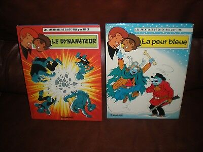 Chick Bill - Lot 2 Tomes : La Peur Bleue + Le Dynamiteur