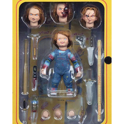 """NECA 4"""" Ultimate Chucky Doll Child's Play Good Guys Action Figure PVC"""