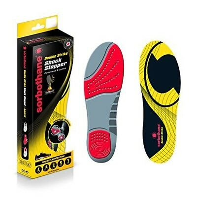 Sorbothane Double Strike - Size 10 - Stopper Insole Insoles New Foot Full