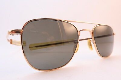 Vintage American Optical sunglasses gold filled aviator 1-10 12K made in the USA