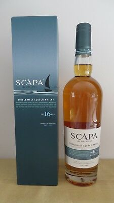 Scapa 16 Year Old Single Malt Whisky - The Orcadian ** Discontinued **