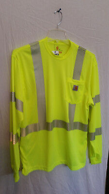 ec9f010b Carhartt Force high-visibility long sleeve t-shirt with reflective tape  size L