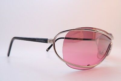 Vintage Chanel NOS sunglasses Mod 4028 col 127 gradient mirrored lens Italy