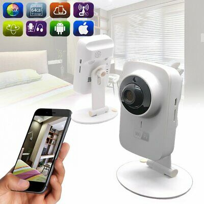 Wireless WiFi HD 720P IP Camera CCTV Night Vision Home Indoor Security System