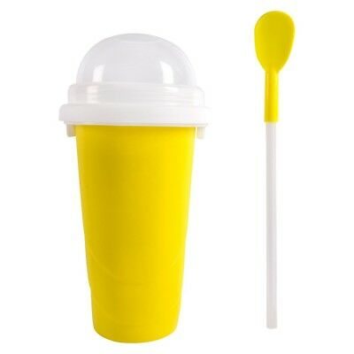 """The Chill Factory Chill Factor Slushy Maker 6"""" Cup, Yellow"""